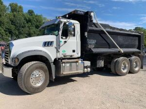2019 Mack MP8 dump -VIN #1M2GR4GC7KM010169