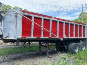 1964 26' heal aluminum dump trailer -vin#1317 have title