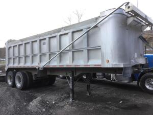 2004 28 foot alfab aluminum frame air ride with tarp -vin #1a9DA28394S199637 have title