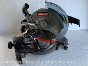 "Craftsman 10"" miter saw"