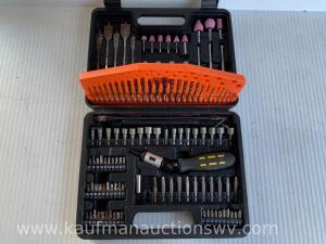 Black & Decker drill bit combo set