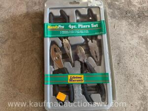 Four piece plier set