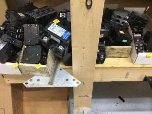 Selection of used breakers