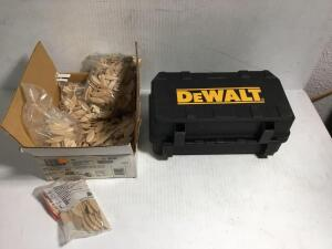 DeWalt plate joiner and biscuits