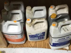 Partial jugs refrigeration oil