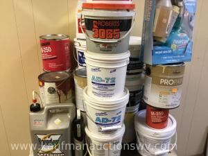 Para bond adhesive, paint, round up, Etc.