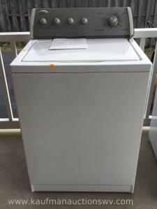 Whirlpool electric washer