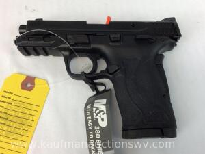 Smith and Wesson M&P 380 shield pistol w/ 2 magazines NIB -serial NCF7246