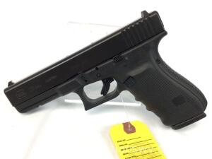 Glock 20 GEN4 10 MM pistol w/ 3 Magazines, back straps and case NIB-serial BECP336