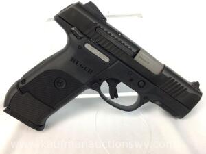 Ruger SR9C 9mm x 19 pistol w/ 2 magazines and case NIB -serial 333-21283