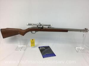 Marlin model 60SB stainless 22 cal L.R. NIB-serial MN00148A