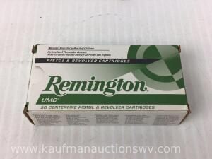 Full Box Remington UMC 40 S&W 180 Grain Jacketed Hollow Points