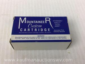 Full Box Mountaineer 125 Grain 38 Special Jacketed Hollow Points
