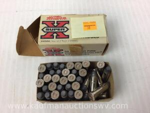 Approximately 38 Super X 357 Magnum 158 Grain Lead Nose Rounds