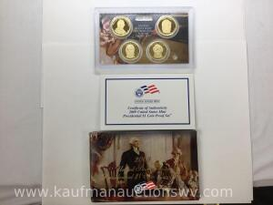 2009 United States mint presidential dollar coin proof set