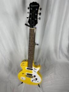 Autographed Epiphone - Les Paul Electric Guitar