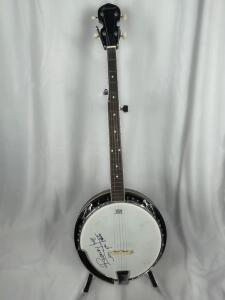 Runaway June Autographed 5 String Banjo with case