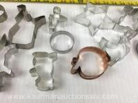 Selection of assorted shaped cookie cutters - 5