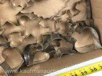 Selection of assorted shaped cookie cutters - 8