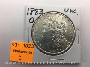 1883 O Uncirculated Morgan