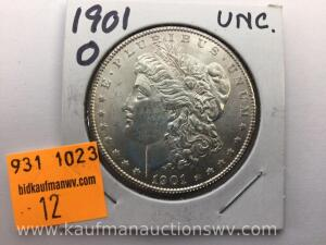 1901 O Uncirculated Morgan