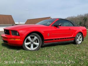 2007 Ford mustang convertible - 4L V6 automatic #vin 1ZVFT84N775332131 HAVE TITLE