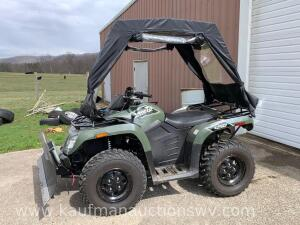 2015 Arctic cat 450 4 wheeler w/ cover Vin# RFB15ATVXFK6Z0519 HAVE TITLE