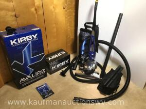 Kirby Avalir 2 Sweeper and shampoo system and other attachments