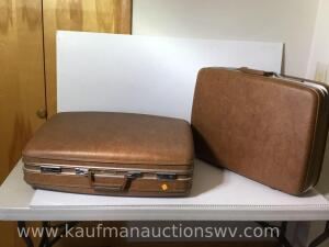Two Airway suitcases