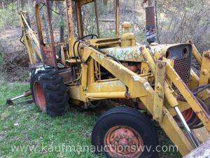 Case Back Hoe with Front Bucket