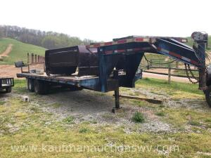 25 ft. Corn Pro Gooseneck trailer