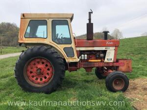 1974 International 1066 Farm All 2wd Cab Tractor