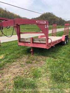20 Ft. Quality Trailer Inc. Goose Neck Trailer