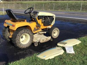 2001 Cub cadet lawn tractor Kohler magnum 20 hp 50 inch cutting deck, Model number 140731100