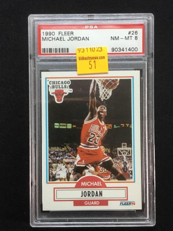 1990 Fleer Michael Jordan Card